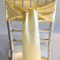 Where To Buy Chair Sashes Modern White Desk 10 Daffodil Yellow Satin 6x106