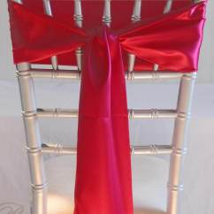 Coral Sashes For Wedding Chairs Blue Chair Bay Coconut Rum Carbs 10 Hot Pink Satin 6 X 106
