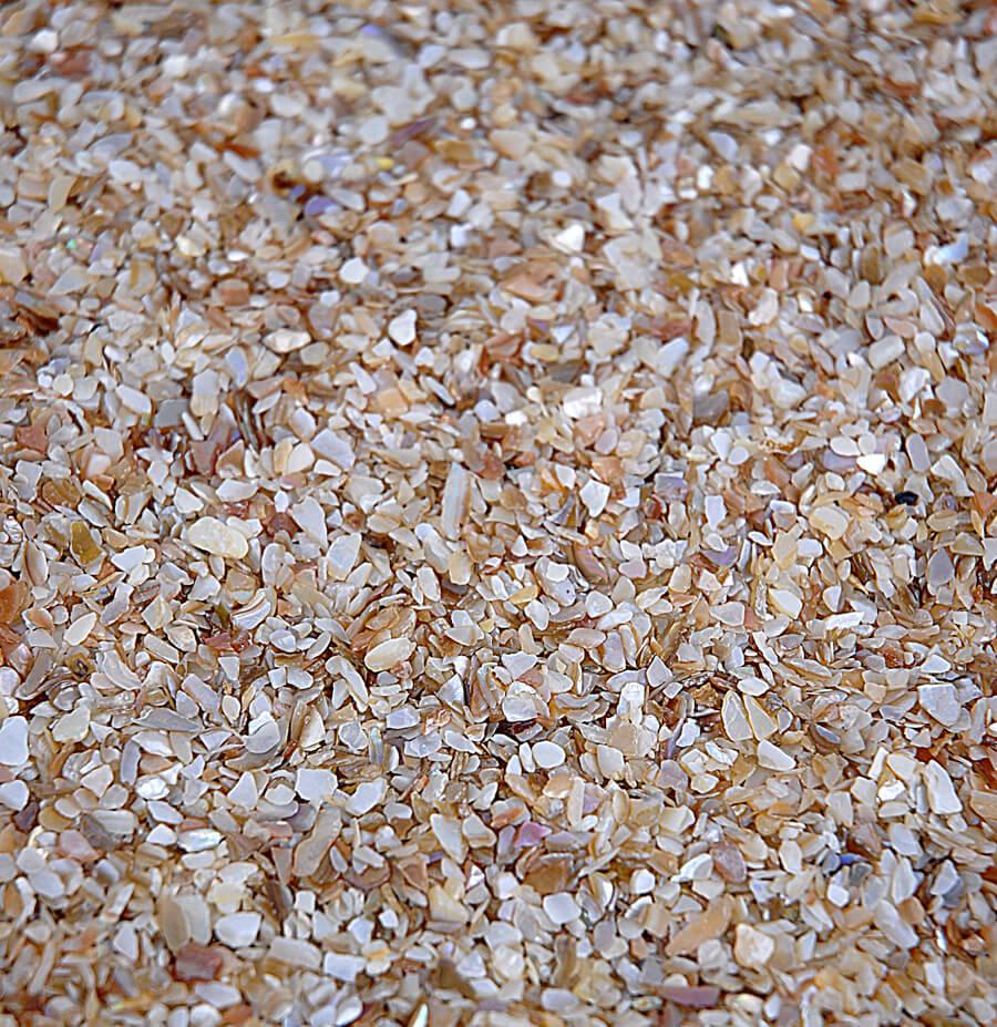 Crushed Shells Fine 175 Lbs