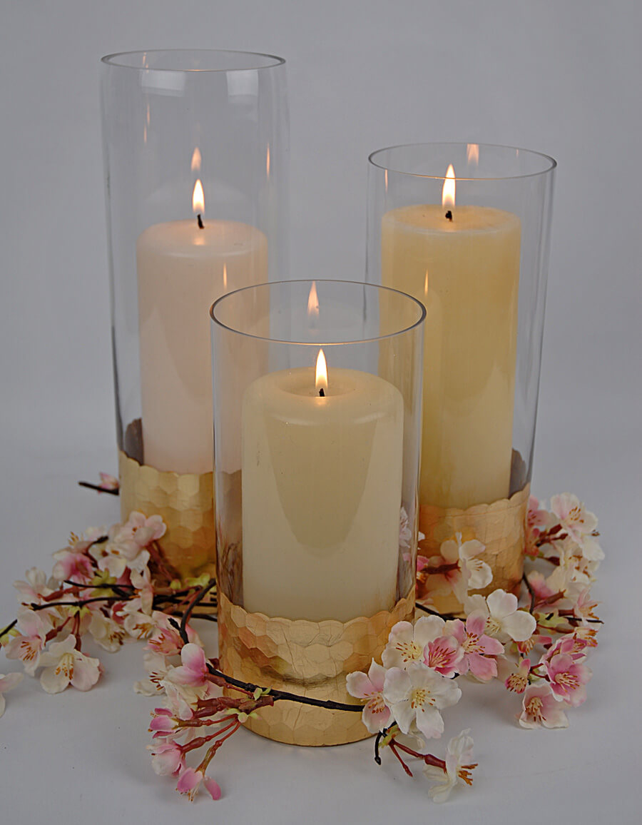 Fall Candle Wedding Favors