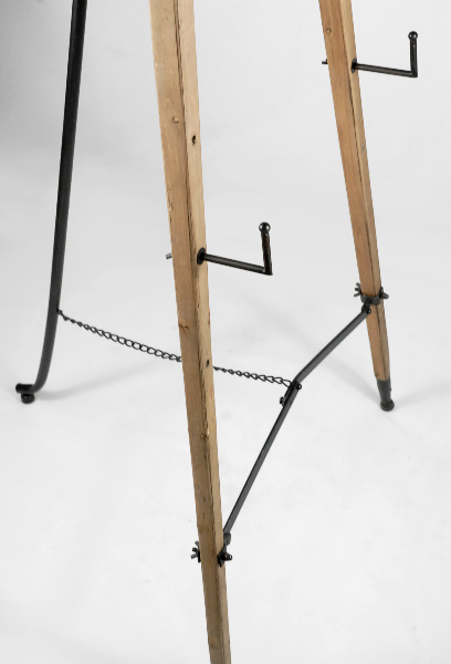 Set of Two Wood Floor Standing Easels 63