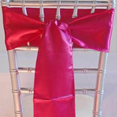 Where To Buy Chair Sashes Target Stacking Chairs 10 Fuchsia Pink Satin 6x108