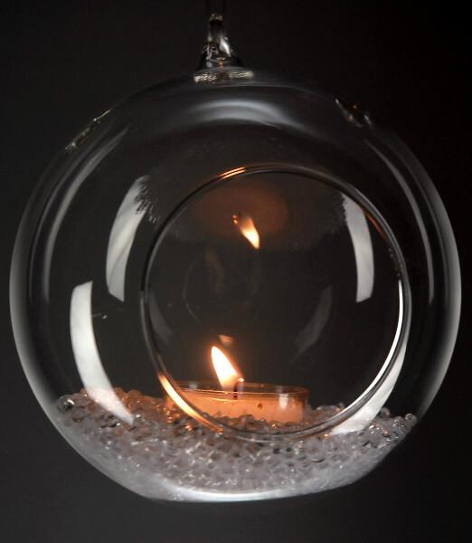 6 Hanging Glass 5in Terrarium Amp Candleholder