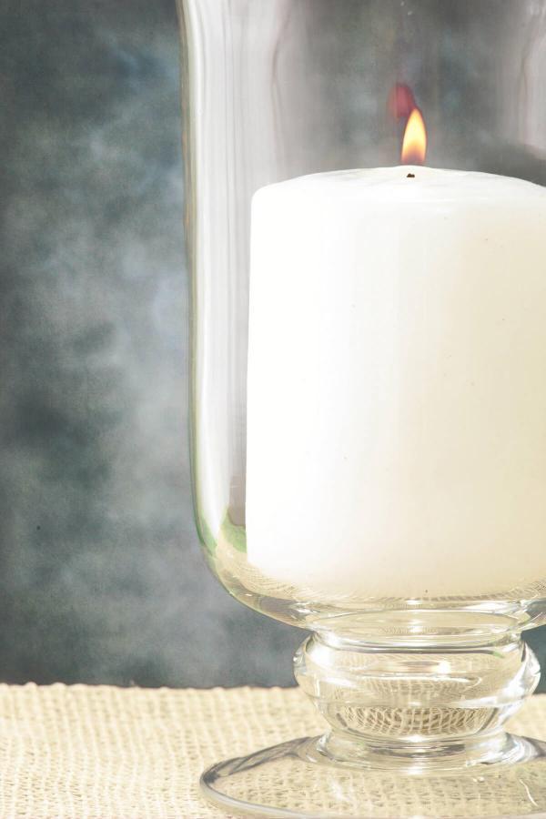 Hurricane Vase Candle Holder