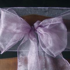 Organza Wedding Chair Sashes Wingback Chairs Leather 10 Lavender