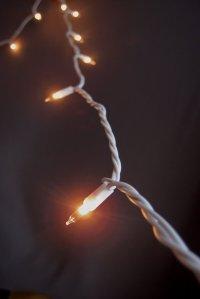 100 Indoor Mini String Lights 40 Feet White Cord