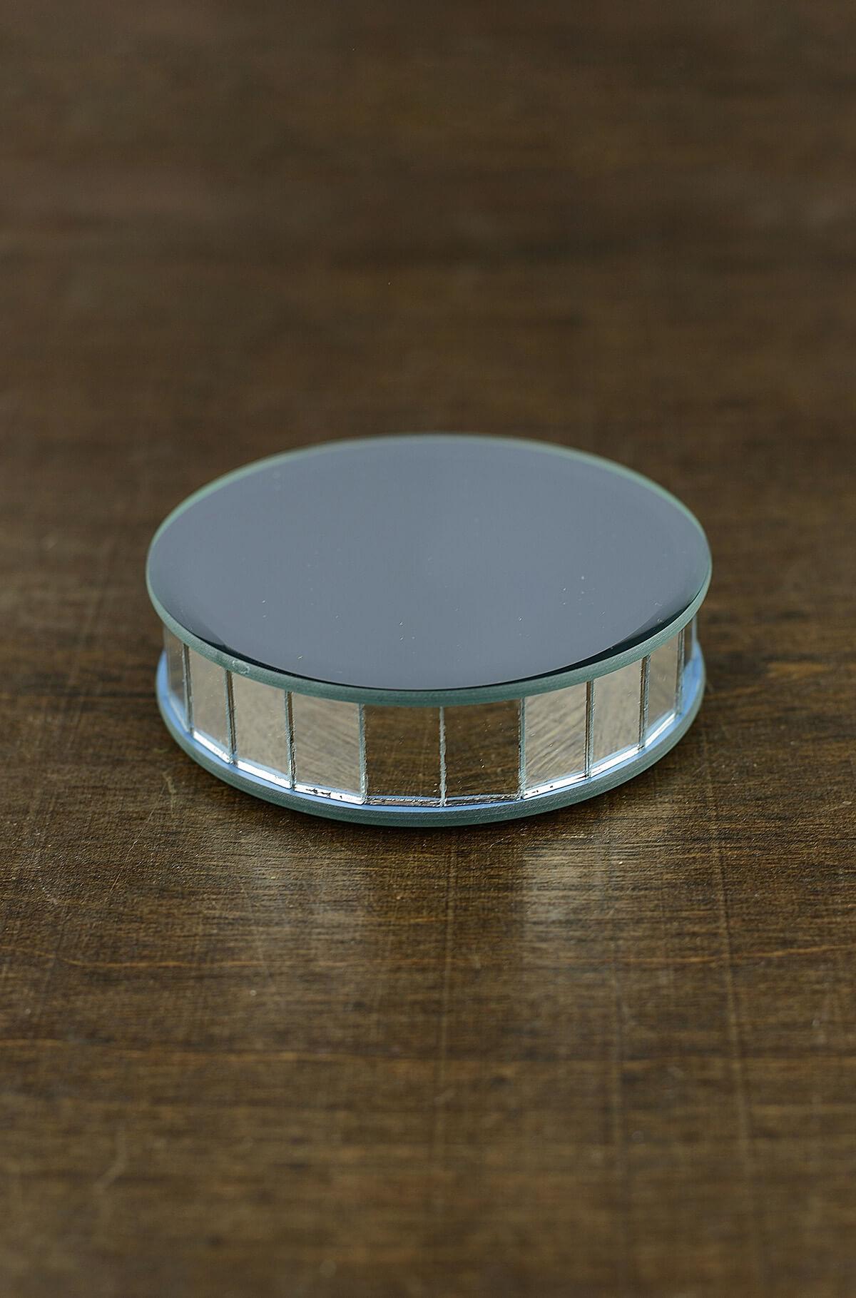 4 Mirror Riser Round Display