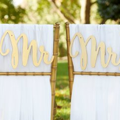 Mr And Mrs Chair Signs Mainstays Mid Back Office Gold