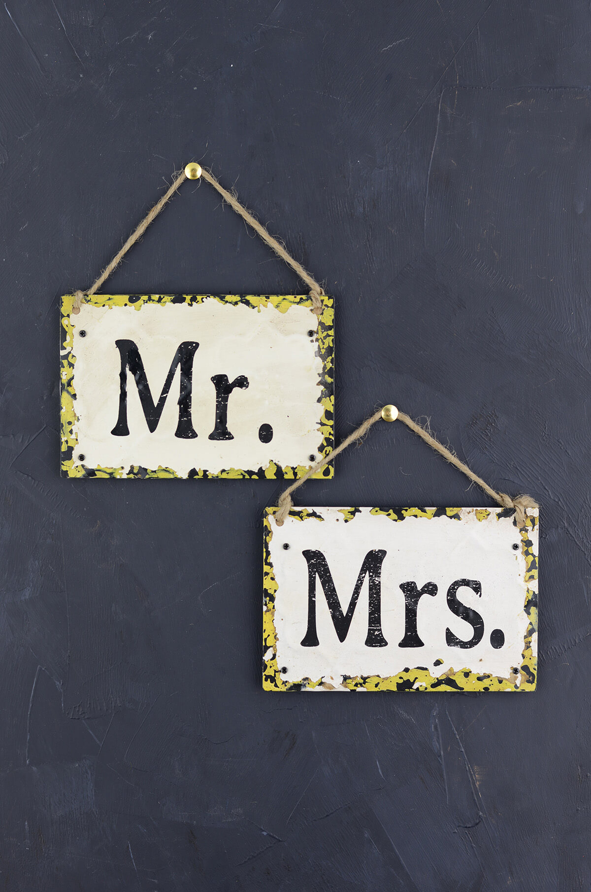 Mr  Mrs Chair Signs