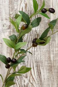 Faux Olive Branch