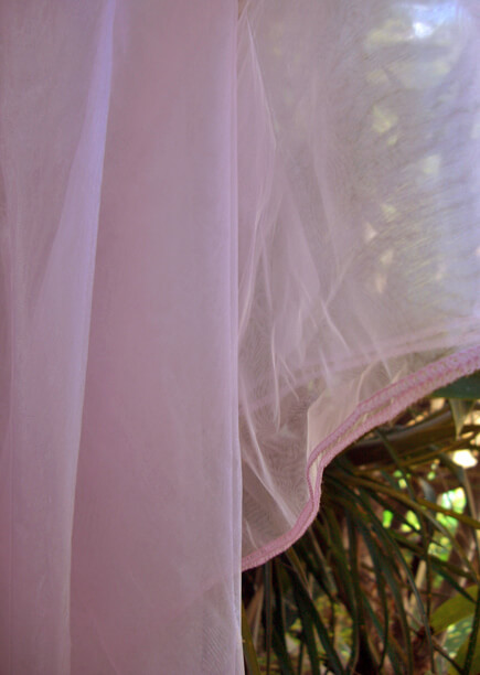 wedding chair back decorations fully adjustable office pink organza fabric sheet 54