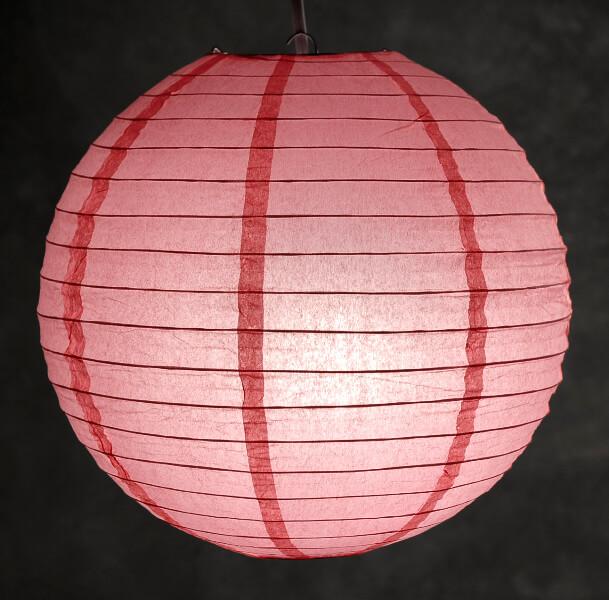 12 CORAL PINK Paper Lanterns