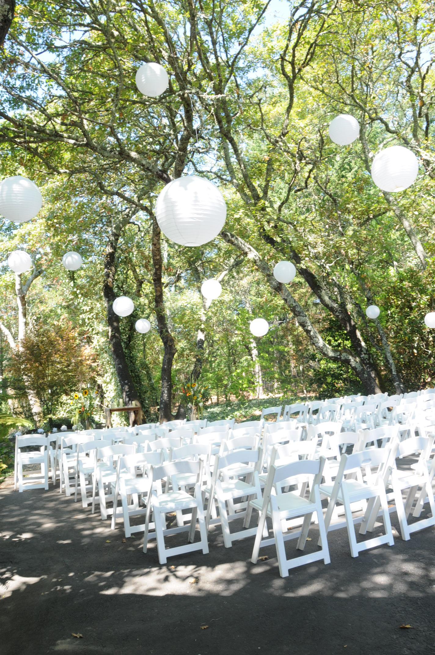 Large White Paper Lanterns 20