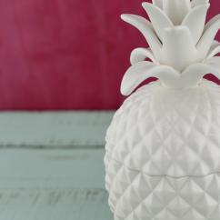 Pineapple Decorations For Kitchen Copper Backsplash Ideas Exquisite Bala Lidded Jar 7.5