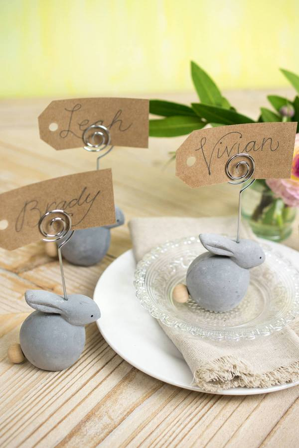 Bunny Placecard Holder Set (8 pieces)
