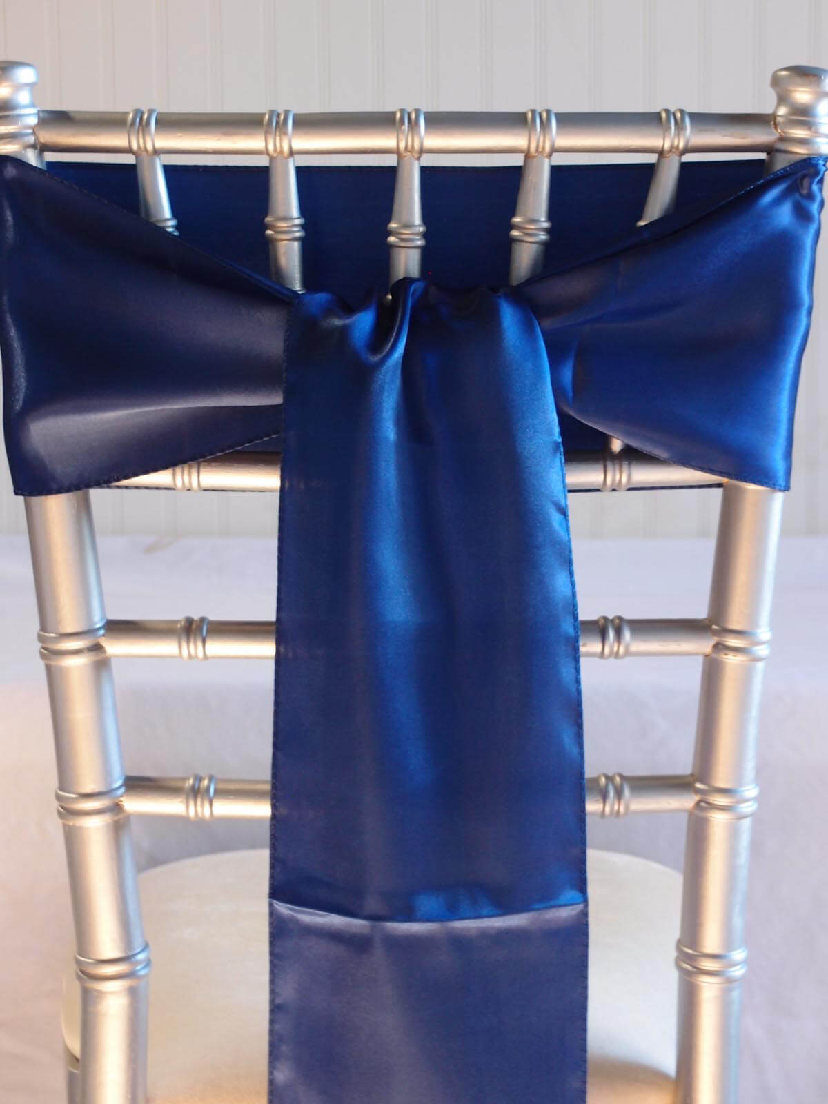 royal blue chair sashes ergonomic chairs for office 10 satin 6x106