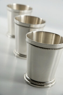 mint chair sashes racing stand julep cups - moscow mule mugs