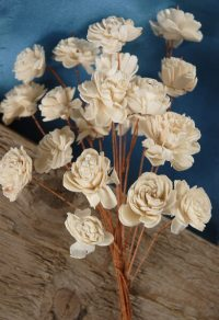 """Sola Flowers 12"""" Bouquet 20 - 1"""" Flowers on wired stems"""