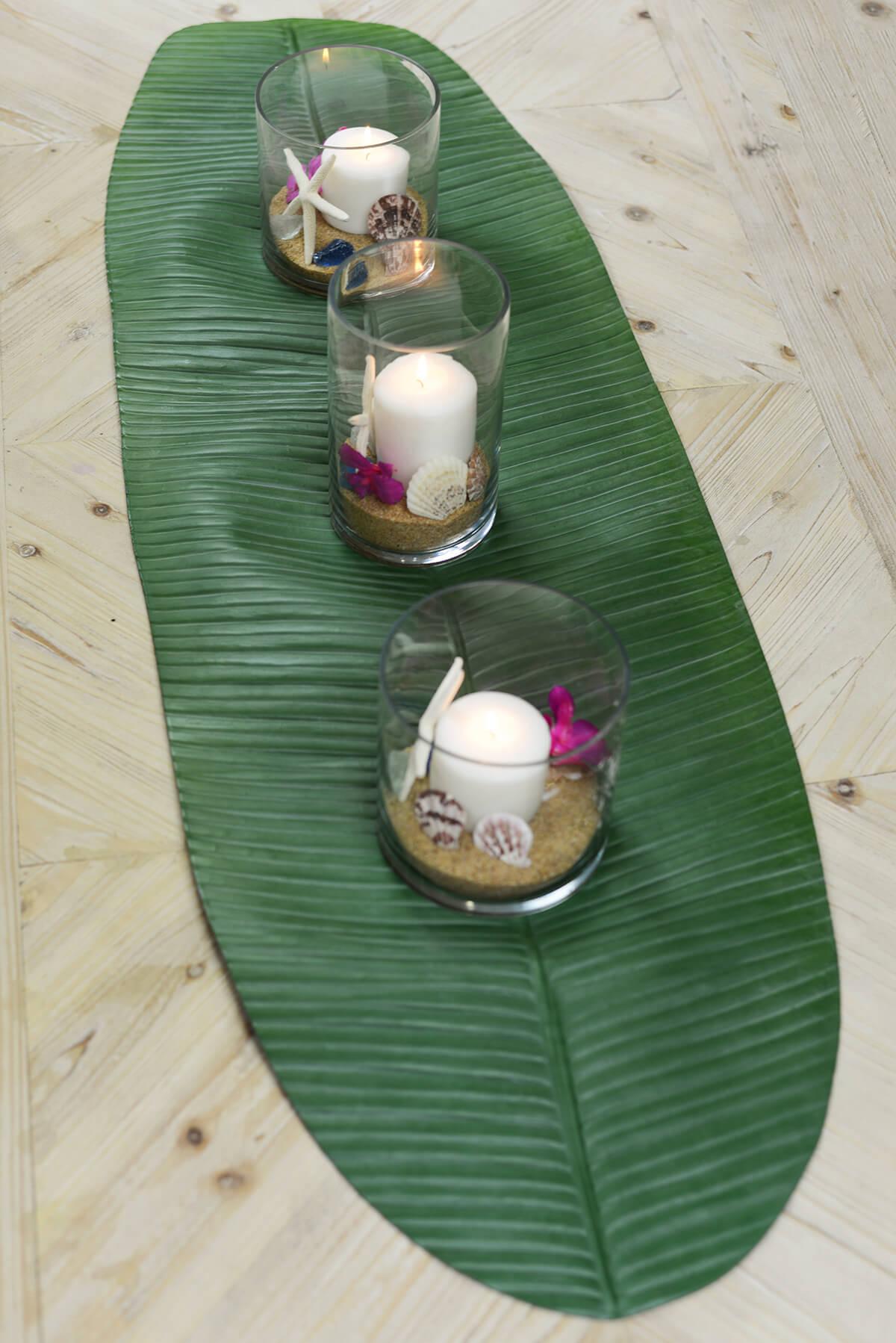 Banana Leaf Table Runner 53