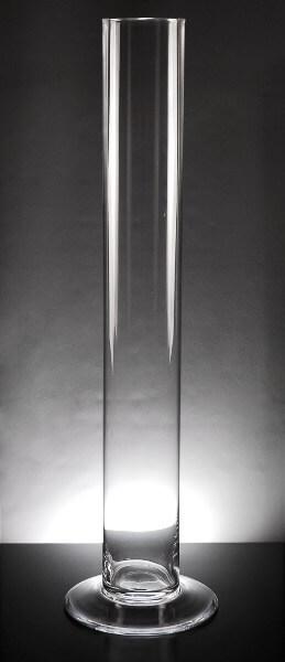 Glass Cylinder Vase Large