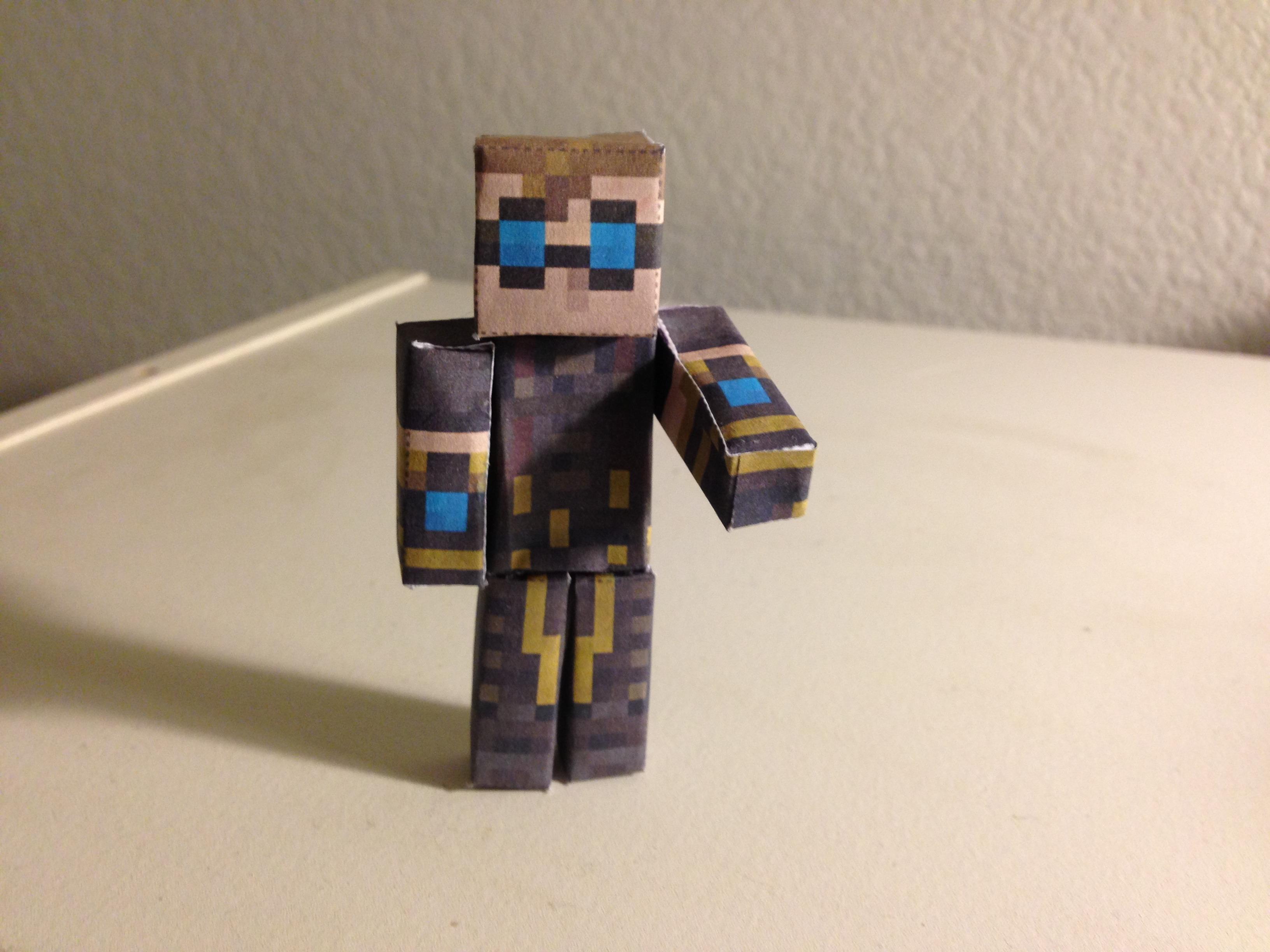 Minecraft Papercraft Hermione