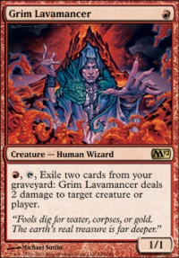 MTG Card: Grim Lavamancer