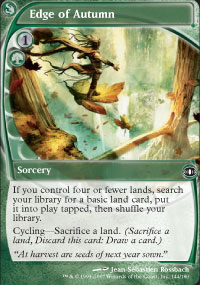 MTG Card: Edge of Autumn