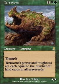MTG Card: Terravore