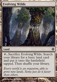 MTG Card: Evolving Wilds