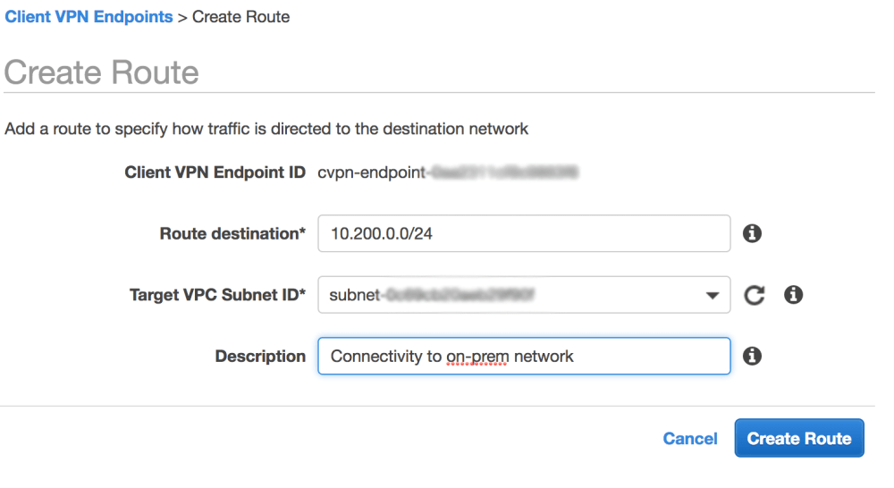 medium resolution of  my on premises network 10 200 0 0 24 similarly if you want to connect to other vpcs you can peer the vpc to the vpc that has the subnet associated