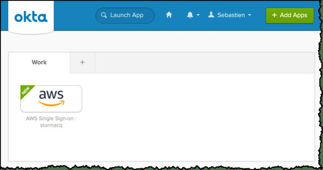 Okta Portal User View