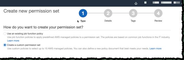Create a custom permission set