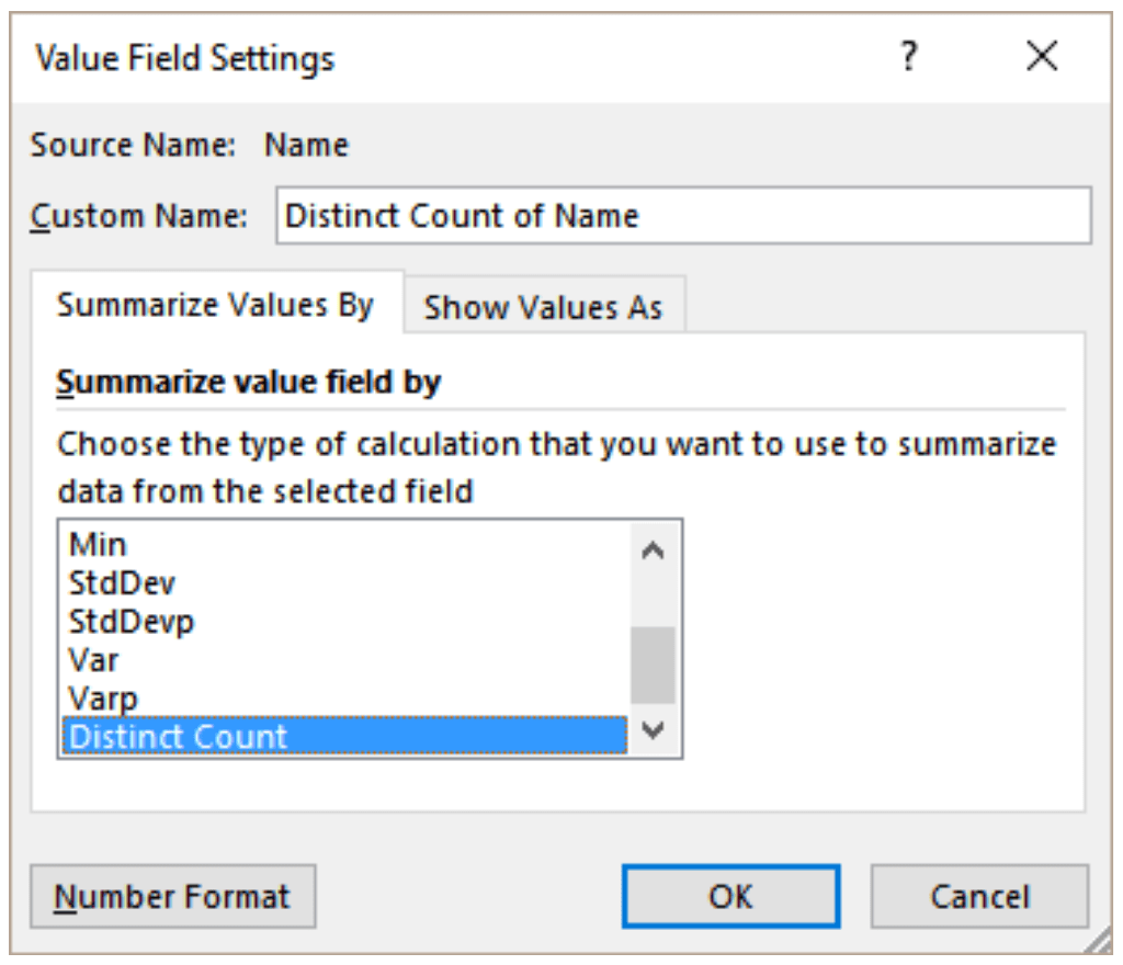 How To Count Unique And Distinct Values In Excel