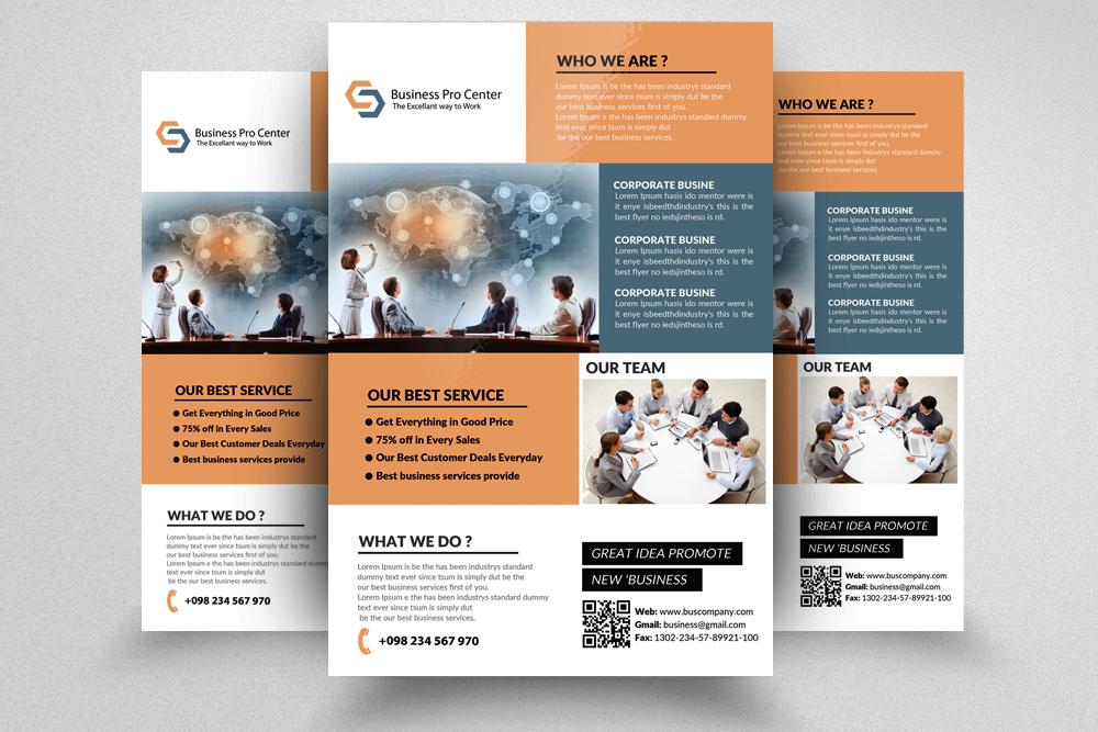Application Software Developer Flyer By Design Bundles