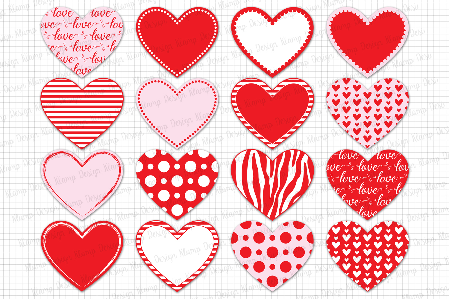 Heart Love Heart Clipart Valentin