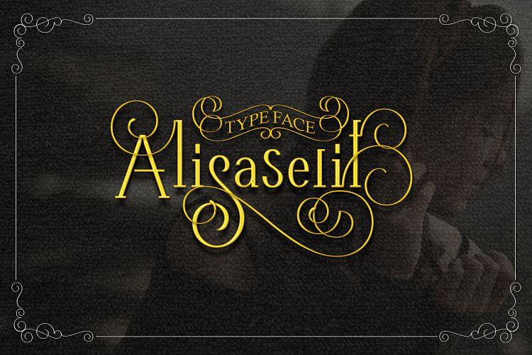 Free AlisaSerif Typeface Fontscripts