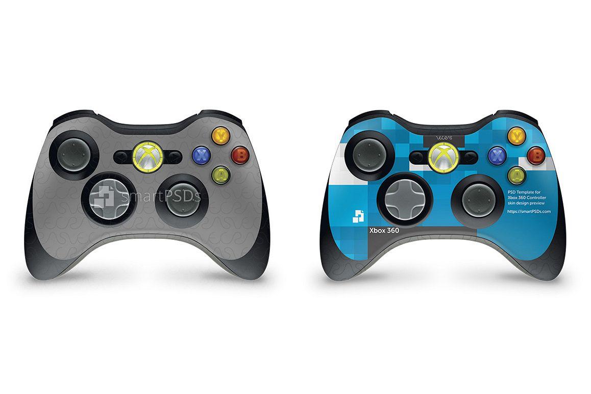 Sticker Xbox Template Controller 360