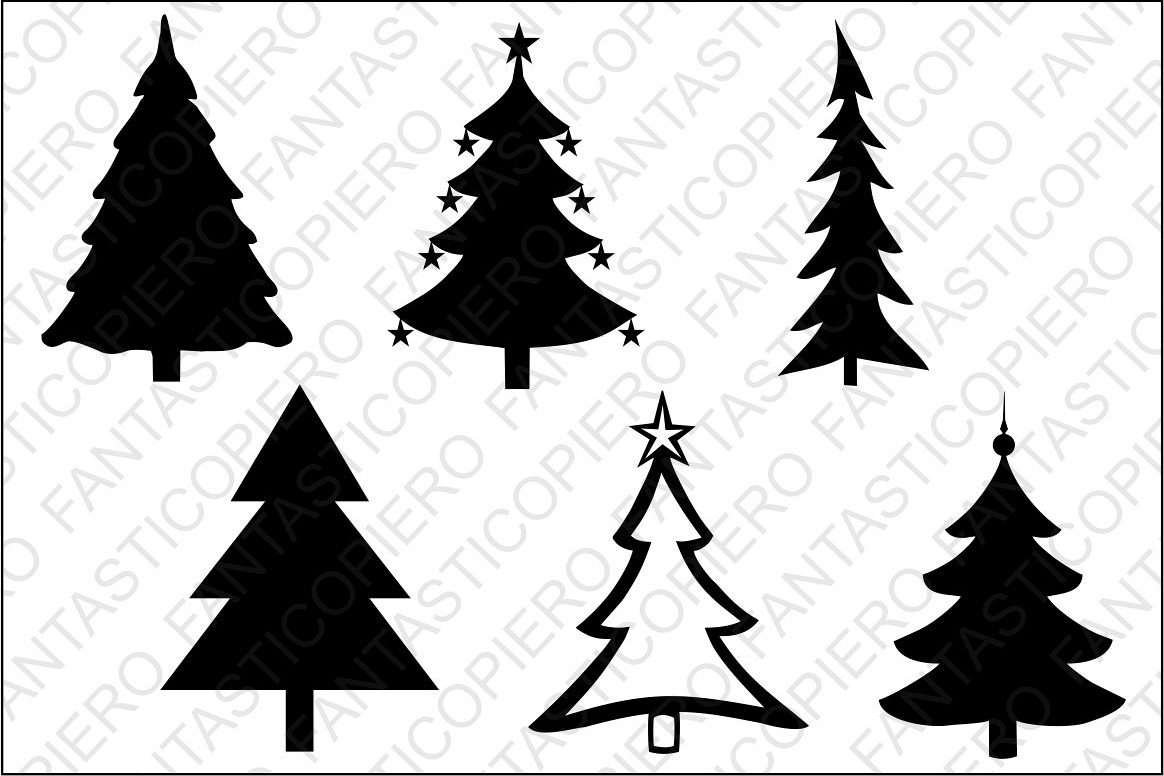 Christmas Tree Svg Files For Silhouette