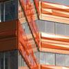Deslocamento de cor Alucobond Office Building torna-se marco no distrito de negócios painéis de acm