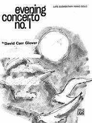 Evening Concerto, No. 1 Sheet Music By David Carr Glover