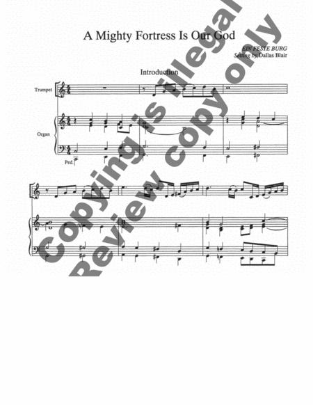 Hymn Introductions And Descants For Trumpet And Organ, Set