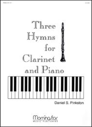 Three Hymns For Clarinet And Piano Sheet Music By Daniel S