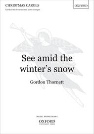 See Amid The Winter's Snow Sheet Music By Gordon Thornett
