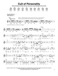Cult Of Personality By Living Colour - Digital Sheet Music For (Download & Print Tranposable Music HX.5246 From Hal Leonard - Digital Sheet Music ...