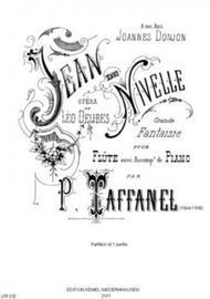 Jean De Nivelle : Opera De Leo Delibes : Grande Fantaisie