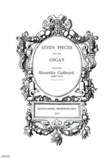 Seven Pieces : For The Organ Sheet Music By Felix