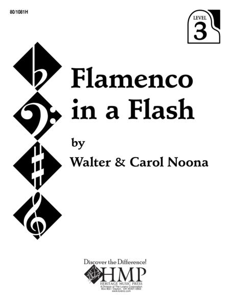 Download Flamenco In A Flash Sheet Music By Janet Vogt