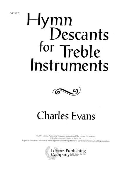Download Hymn Descants For Treble Instruments Sheet Music