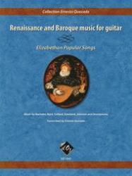 renaissance music baroque guitar elizabethan songs popular