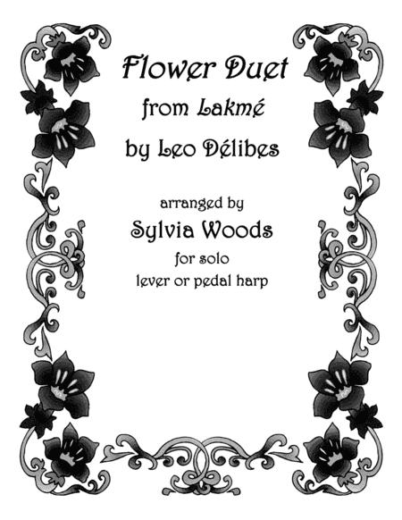 Flower Duet From Lakeme Sheet Music By Sylvia Woods